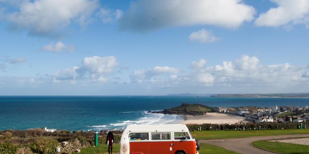 Top five campervan journeys in the UK