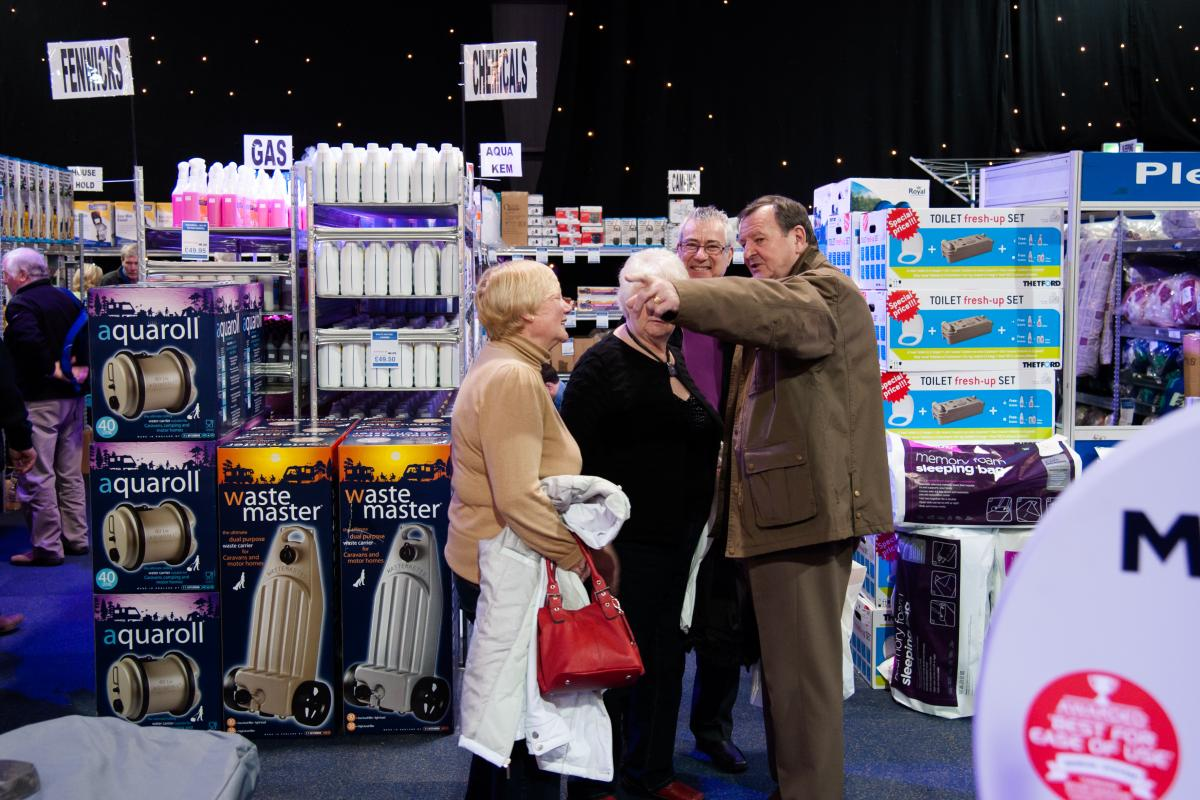 Accessory Superstore at the Caravan & Motorhome Show