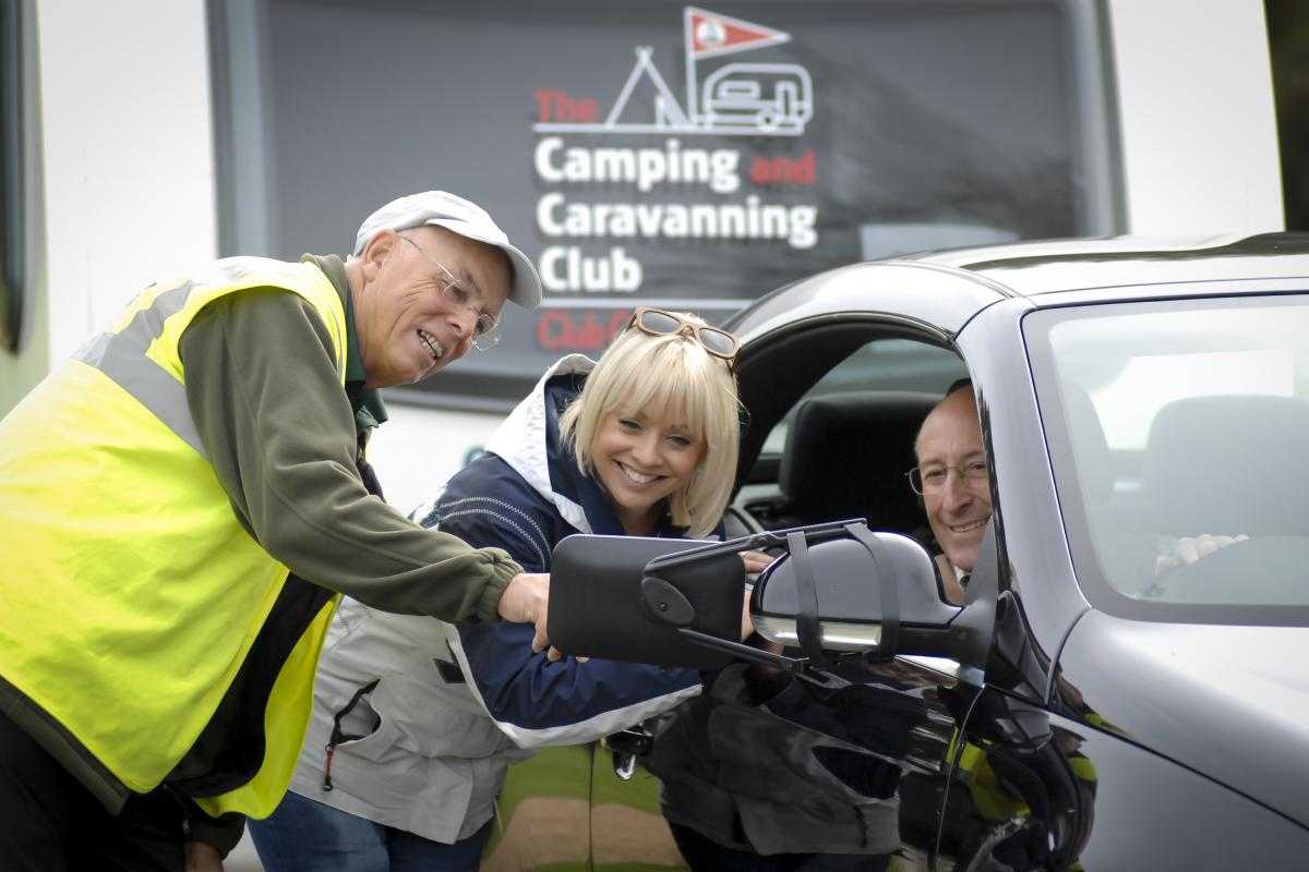Towing Experience at the Caravan & Motorhome Show